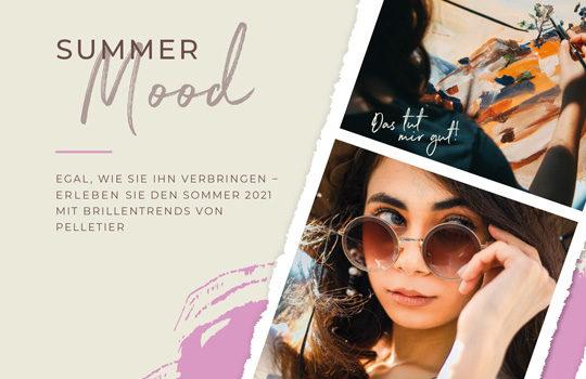 Mit Sommerlaune und Sonnenbrille!