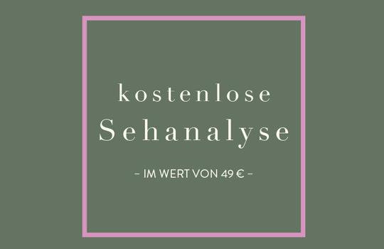 Kostenlose Sehanalyse